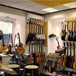 Музыкальные магазины Островского